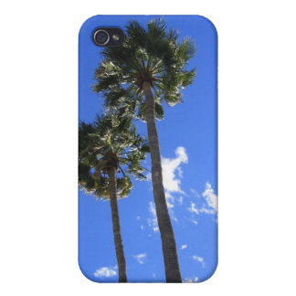 COQUE iPhone 4/4S PAUMES JUMELLES