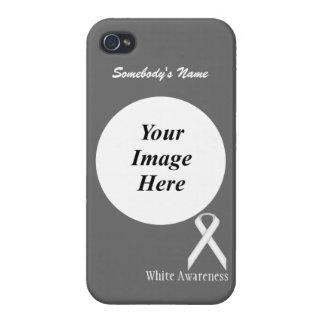 Coque iPhone 4/4S Ruban standard blanc par Kenneth Yoncich