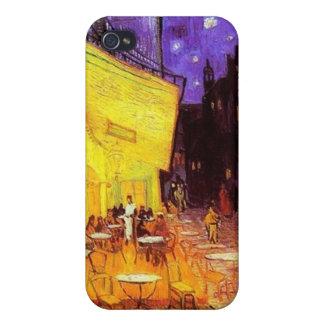 Coque iPhone 4/4S Terrasse de café la nuit par iPhone de Vincent van