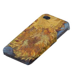 Coque iPhone 4/4S Tournesols de Vincent van Gogh |, 1887
