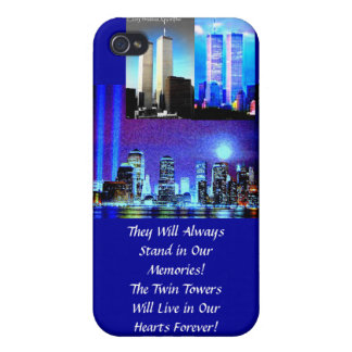 COQUE iPhone 4/4S TOURS JUMELLES. .WE PAS JAMAIS FOREGET… MOMORIES