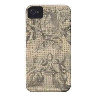 Coque iPhone 4 ange religieux de victorian de ciel de toile de
