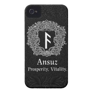 Coque iPhone 4 Ansuz-Rune/prospérité, vitalité
