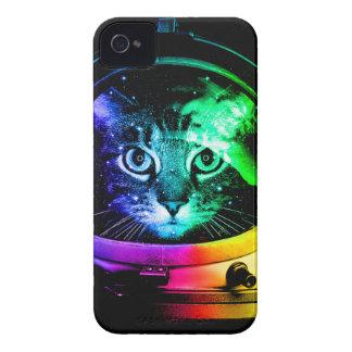 Coque iPhone 4 Astronaute de chat - chat de l'espace - chats
