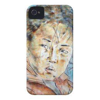 Coque iPhone 4 bluefaerytale. à buddha