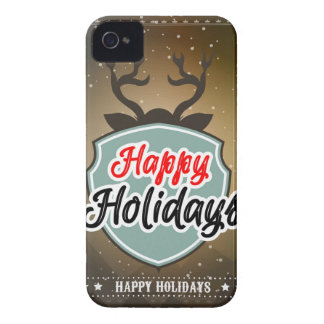 Coque iPhone 4 Bonnes fêtes