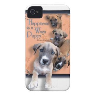 Coque iPhone 4 Cas chaud de téléphone de chiot