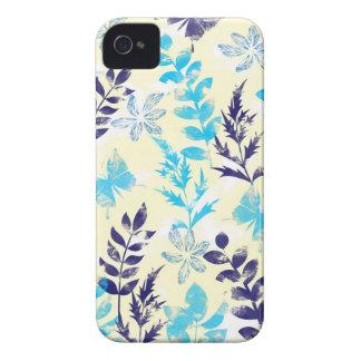 Coque iPhone 4 Case-Mate Aquarelle florale et papillon