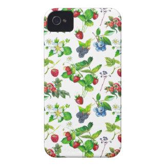 Coque iPhone 4 Case-Mate Art mignon de cottage de forêt de ressort de