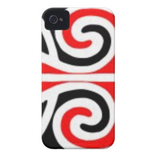 Coque iPhone 4 Case-Mate art tribal de conceptions maories pour vous