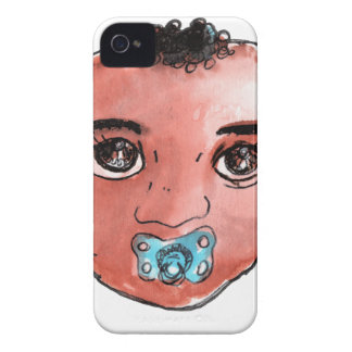 Coque iPhone 4 Case-Mate baby boy afro
