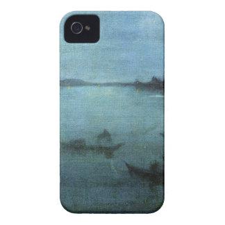 Coque iPhone 4 Case-Mate Bleu et argentez la lagune Venise
