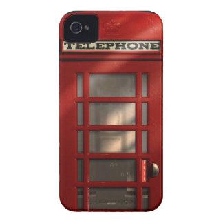 Coque iPhone 4 Case-Mate Cabine téléphonique rouge britannique vintage