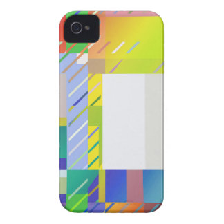 Coque iPhone 4 Case-Mate Carrés abstraits