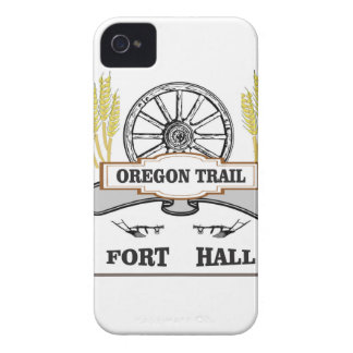 Coque iPhone 4 Case-Mate charrue de blé de hall de fort