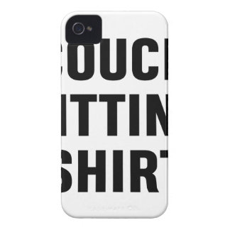 Coque iPhone 4 Case-Mate Chemise se reposante de divan