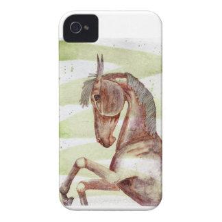 Coque iPhone 4 Case-Mate Cheval de baie sur le lavage vert serpentin