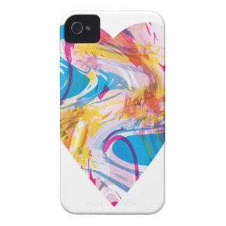 Coque iPhone 4 Case-Mate Coeur d'art de problème