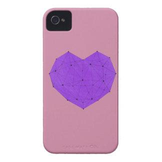 Coque iPhone 4 Case-Mate Coeur géométrique
