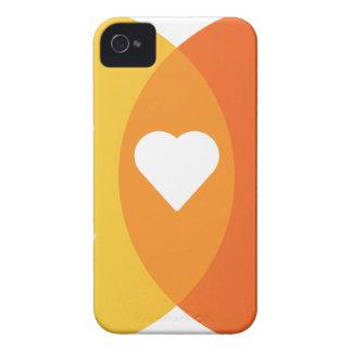 Coque iPhone 4 Case-Mate Diagramme de Venn de chats de coeur de personnes