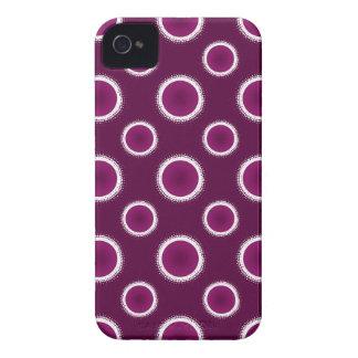 Coque iPhone 4 Case-Mate Éclipse de pourpre de raisin