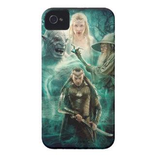 Coque iPhone 4 Case-Mate ELROND™, Azog, Galadriel, et graphique de Gandalf