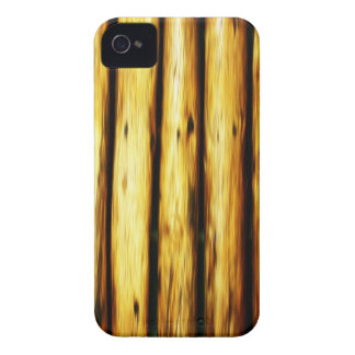 Coque iPhone 4 Case-Mate ennui naturel en bois de style de texture de Brown