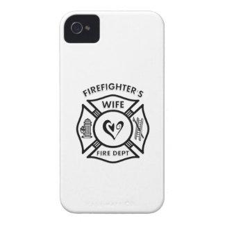 Coque iPhone 4 Case-Mate Épouse de sapeur-pompier