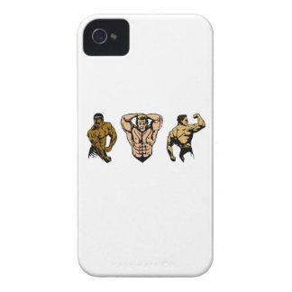Coque iPhone 4 Case-Mate Équipage de muscle - frappez une pose
