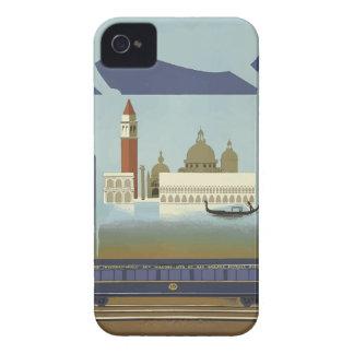 Coque iPhone 4 Case-Mate Express vintage de Venise l'orient de voyage