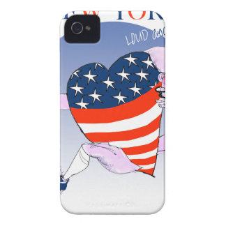 Coque iPhone 4 Case-Mate fernandes élégants bruyants et fiers de New York,