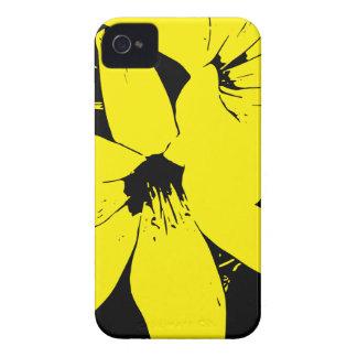 Coque iPhone 4 Case-Mate Fleurs jaunes de Lilly