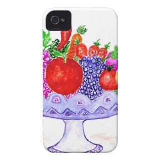 Coque iPhone 4 Case-Mate Fruit dans l'art de vase