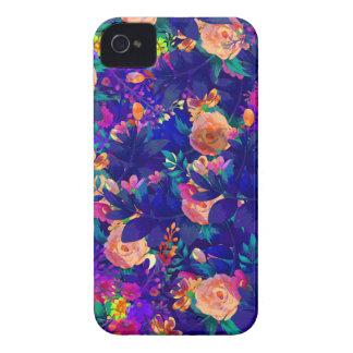 Coque iPhone 4 Case-Mate jardin botanique V d'aquarelle