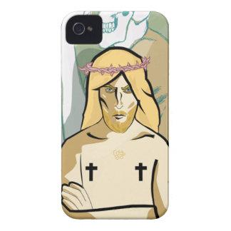 Coque iPhone 4 Case-Mate JeSus FiGhT