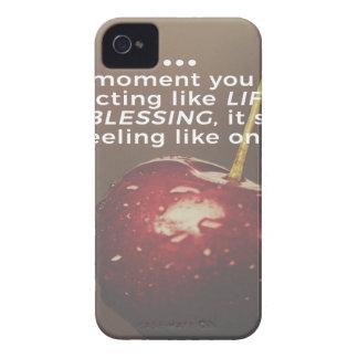 Coque iPhone 4 Case-Mate La vie est une bénédiction