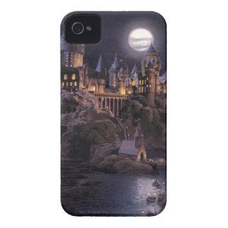Coque iPhone 4 Case-Mate Lac castle | de Harry Potter grand à Hogwarts
