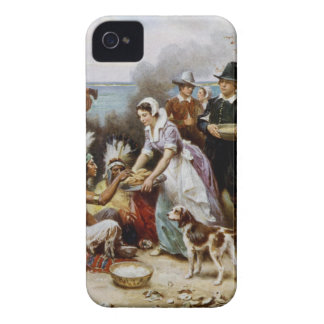 Coque iPhone 4 Case-Mate Le premier thanksgiving