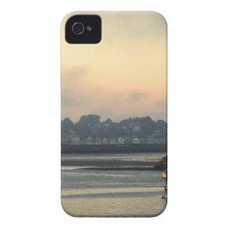 Coque iPhone 4 Case-Mate Lever de soleil et bateaux