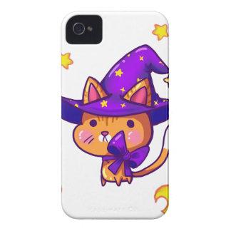 Coque iPhone 4 Case-Mate Magic wizard Cat
