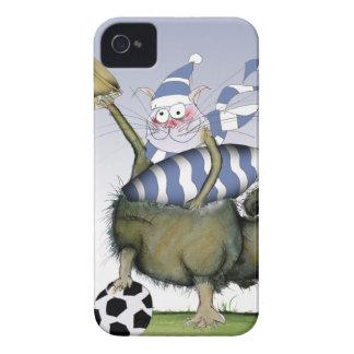 Coque iPhone 4 Case-Mate minou de bleus du football
