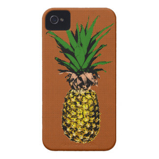 Coque iPhone 4 Case-Mate Papier journal d'ananas