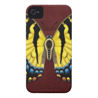 Coque iPhone 4 Case-Mate Papillon de machaon de tigre