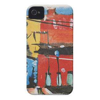 Coque iPhone 4 Case-Mate paysage urbain par Lyn Graybeal