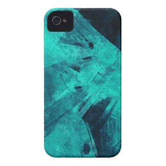 Coque iPhone 4 Case-Mate Peinture Bleu-Noire
