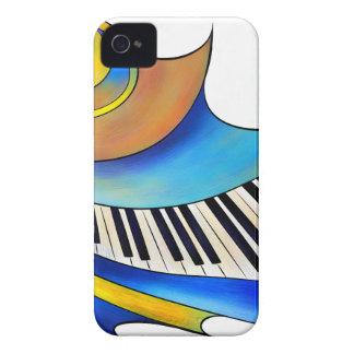 Coque iPhone 4 Case-Mate Redemessia - piano en spirale