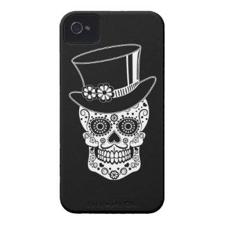 Coque iPhone 4 Case-Mate Sucre Skull-01 de monsieur
