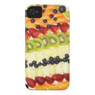 Coque iPhone 4 Case-Mate Tarte de fruit formé par oeuf avec de divers