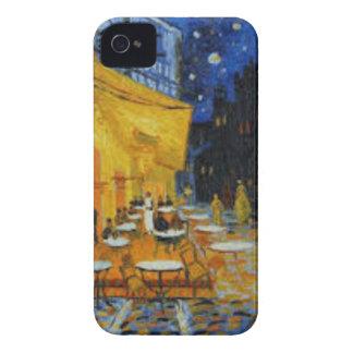 Coque iPhone 4 Case-Mate Terrasse de Café le nuit de Vincent Van Gogh