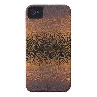 Coque iPhone 4 Case-Mate Tigre fondu - noir et abrégé sur bronze